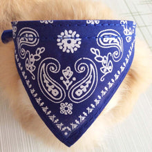 Pet Scarf Collar for Small Dogs,Fashion Paisley Printing Dog Collar Accessories ,Adjustable Bow Tie Cat Collars with Bandana