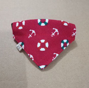 Very Lovely Pet Dog Canvas Scarf Collar Adjustable Puppy Triangle Bandana Pet   Cat Tie Collar XS-XL 5 Colors