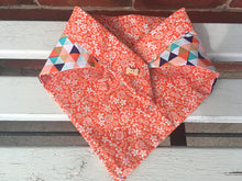Multicoloured Geometric Dog Bandana