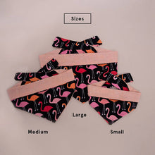 Pink Flamingos Dog Bandana