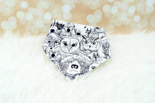 "Handmade Dog Bandana ""Animal Faces"" Print"