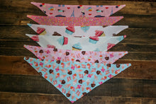 Blue Ice Cream Cone Birthday Dog Bandana Pink or Blue