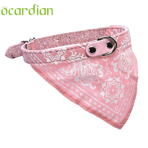 Ocardian Adjustable Pet Dog Puppy Neck Scarf Bandana Collar