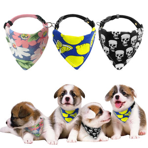 Adjustable Pet Dog Bandana Collars