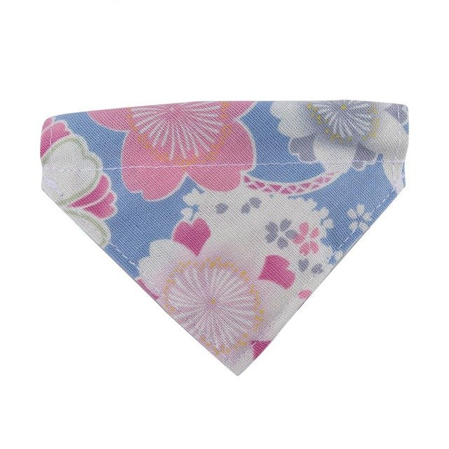 Pet Dog Collar Scarf Adjustable Printed Classic