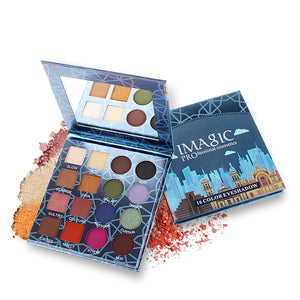 The Blue Case - Imagic Eyeshadow Palette 16 (matte&shimmer)