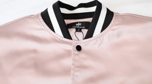 Icy Rose Varsity Jacket - AFE Clothing