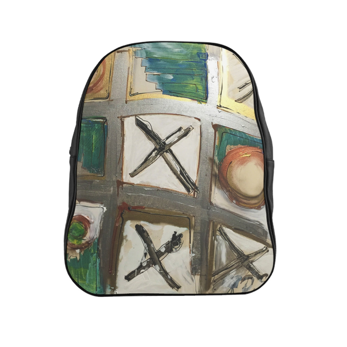 Tic Tac Toe - School Backpack