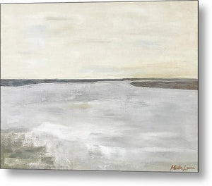 Kilmore At Low Tide - Metal Print