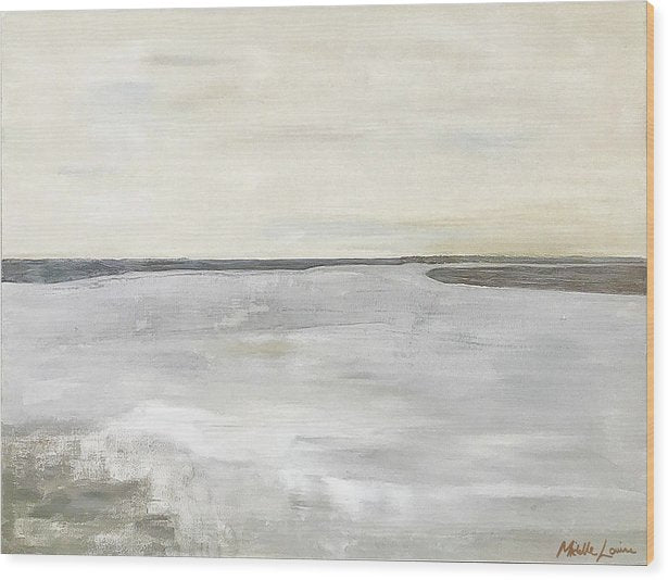 Kilmore At Low Tide - Wood Print