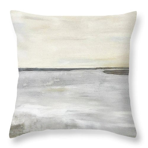 Kilmore At Low Tide - Throw Pillow