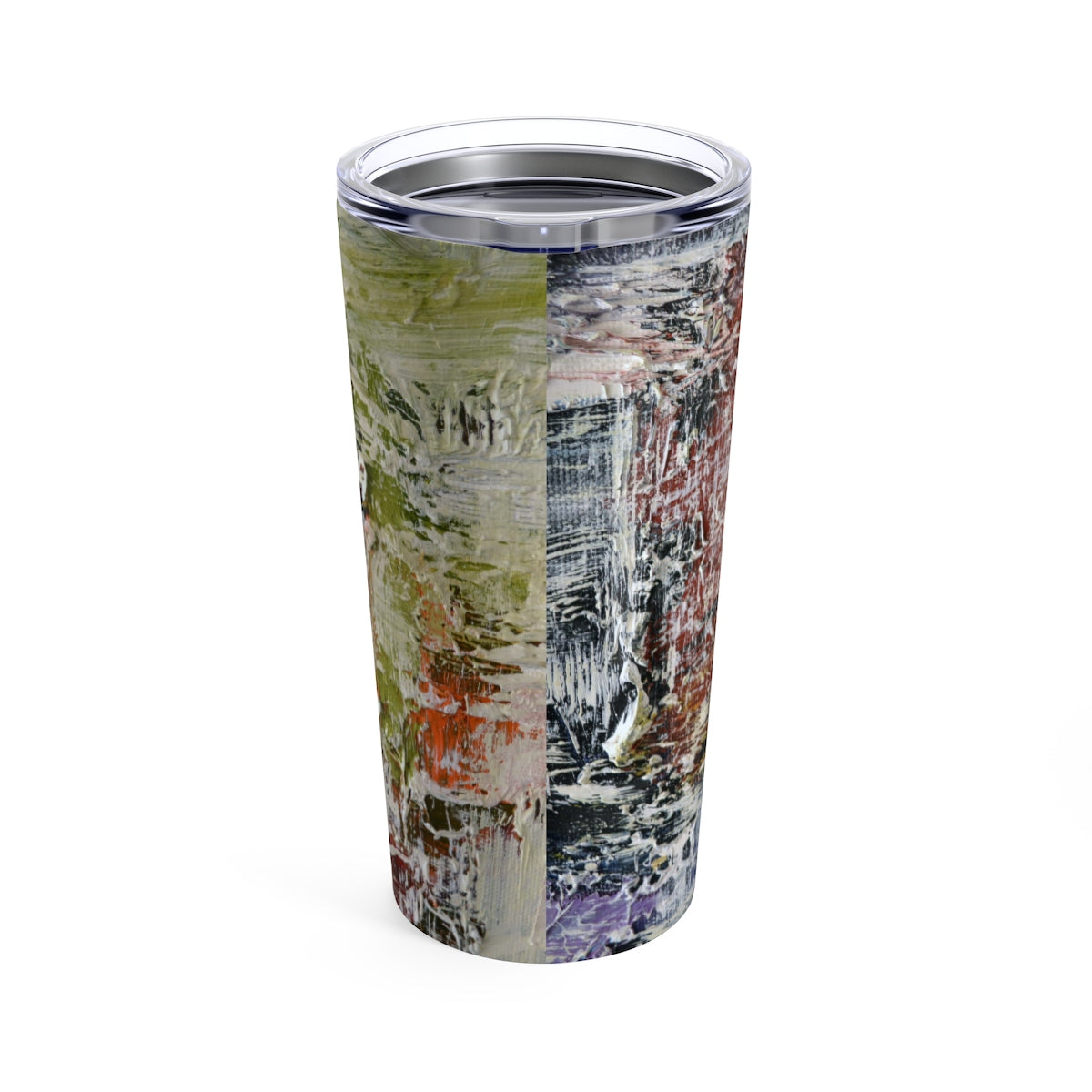 Green Abstract - 20oz Cup