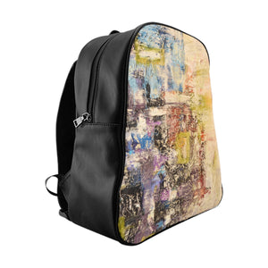 Green Abstract - School Backpack