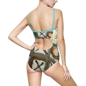 Tic Tac Toe One-piece Swimsuit