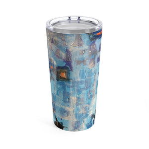 Blue Abstract - 20oz Cup