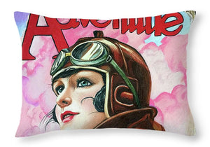 Adventure - Throw Pillow
