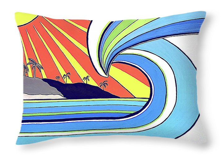 Aloha - Throw Pillow