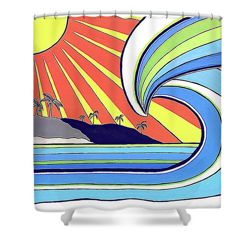 Aloha - Shower Curtain