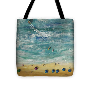 Beach From Above - Tote Bag