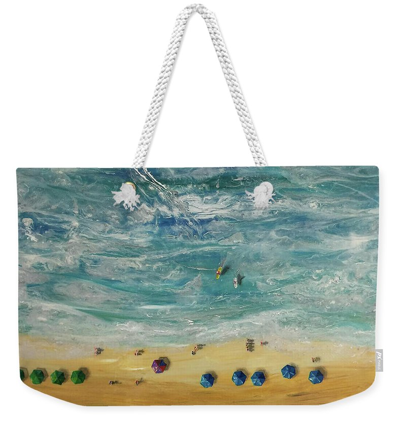 Beach From Above - Weekender Tote Bag