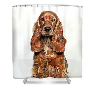 Doggy - Shower Curtain