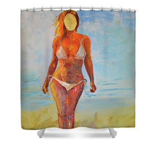 Emotionless - Shower Curtain