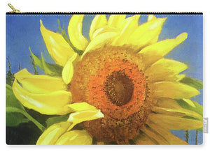 First Sunflower - Carry-All Pouch