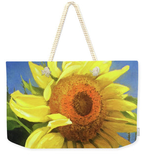 First Sunflower - Weekender Tote Bag