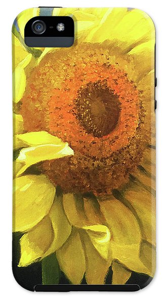 First Sunflower - Phone Case