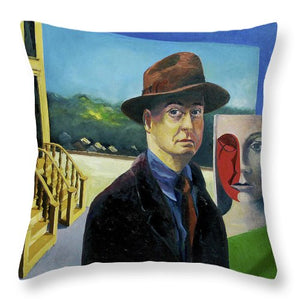 Hopper - Throw Pillow