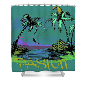 Pasion - Shower Curtain