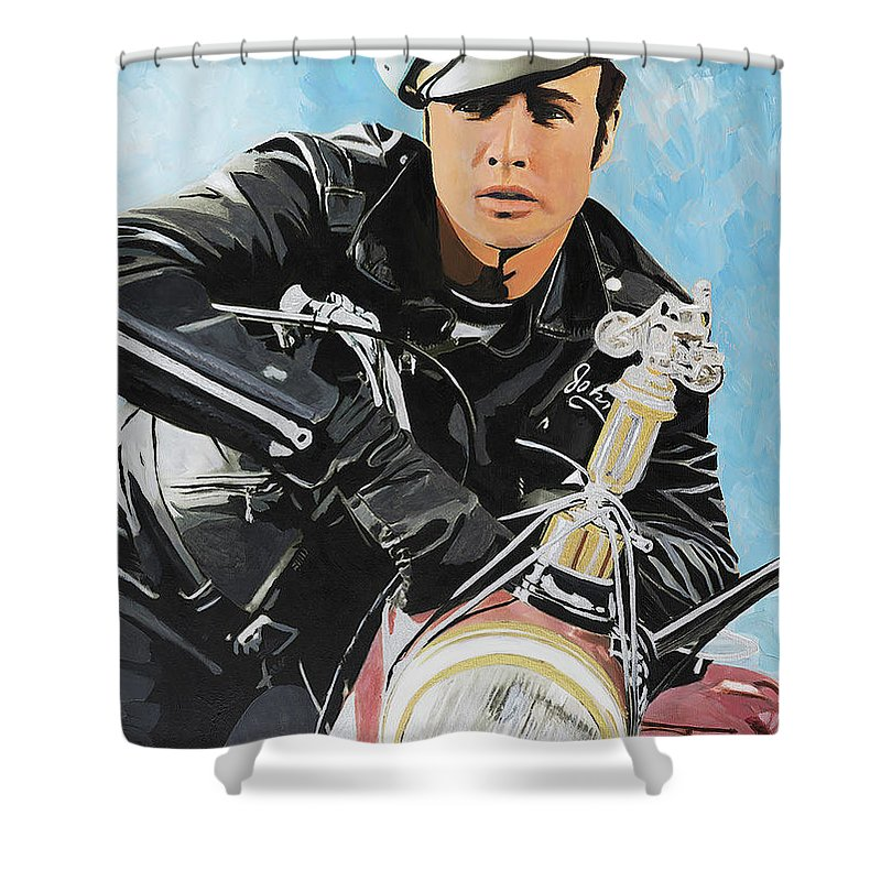 Marlon Brando - Shower Curtain