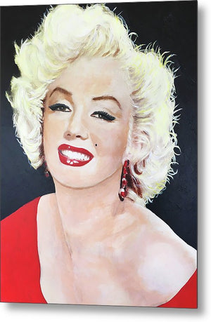 Marylin Monroe - Metal Print