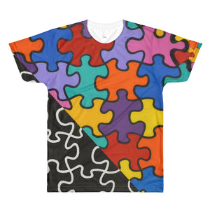 Puzzle: Colors with Black & White