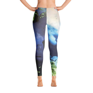 Abstract Leggings by Bonnie Perlin