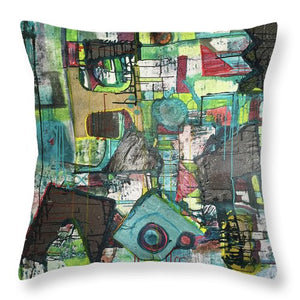 Moonshadow - Throw Pillow