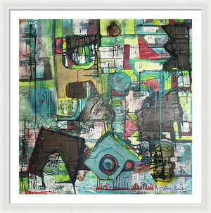 Moonshadow - Framed Print