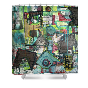 Moonshadow - Shower Curtain