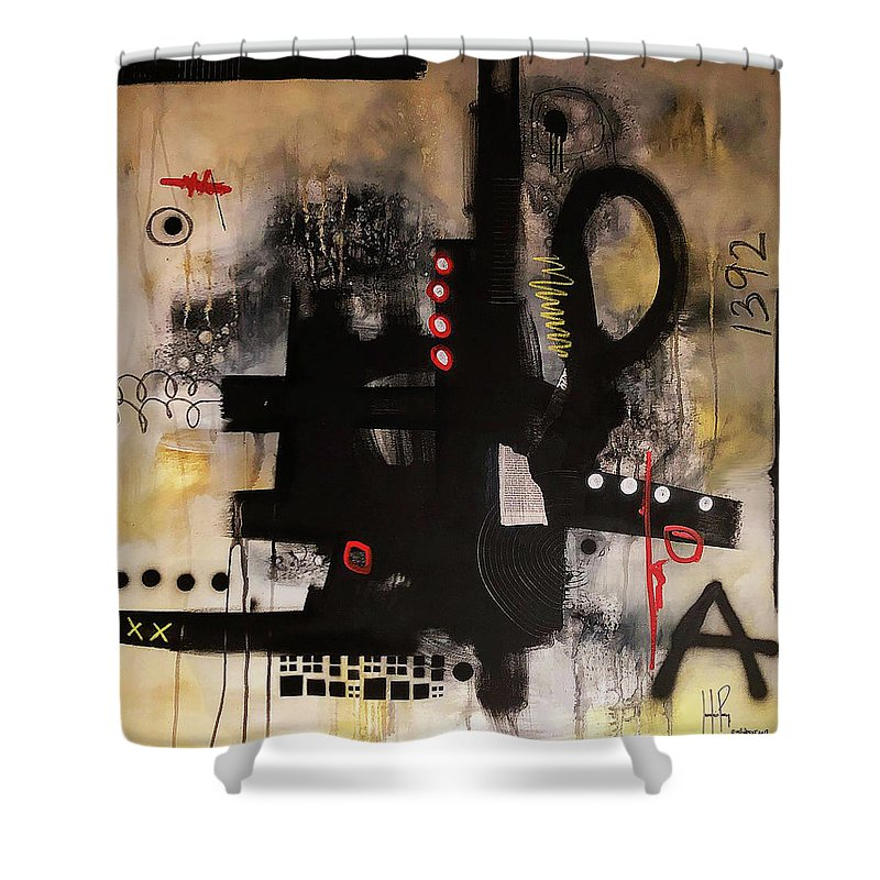 Outer Limits - Shower Curtain