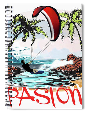 Pasion - Spiral Notebook