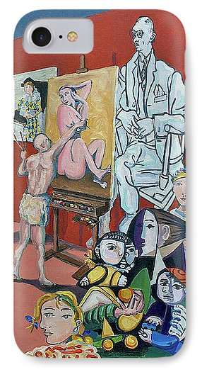 Picasso And Picasso - Phone Case