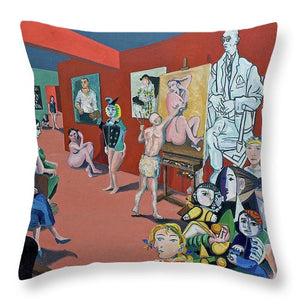 Picasso And Picasso - Throw Pillow