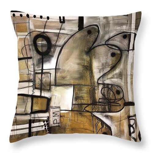 Protective Mechanishm - Throw Pillow