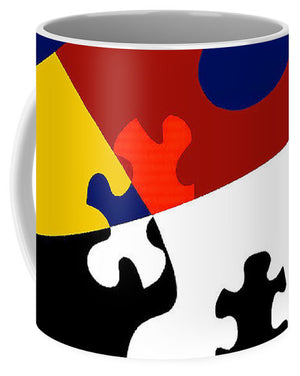 Puzzle Black And White - Mug