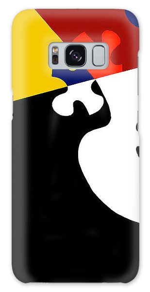 Puzzle Black And White - Phone Case