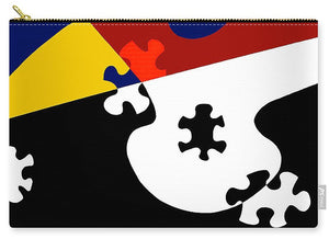 Puzzle Black And White - Carry-All Pouch