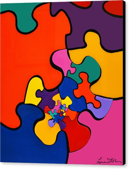 Puzzle Inception - Canvas Print