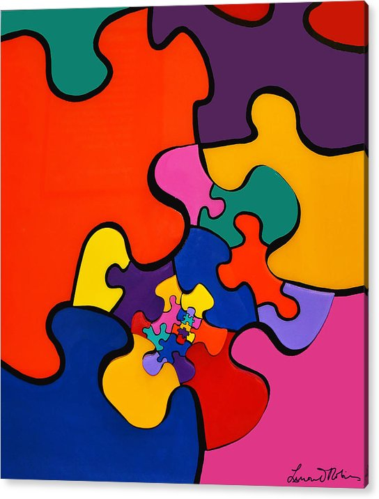 Puzzle Inception - Acrylic Print