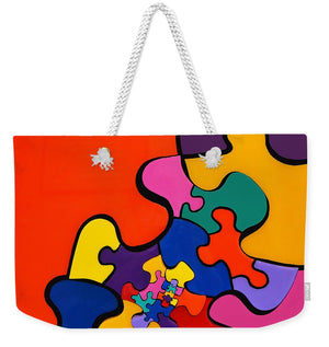 Puzzle Inception - Weekender Tote Bag