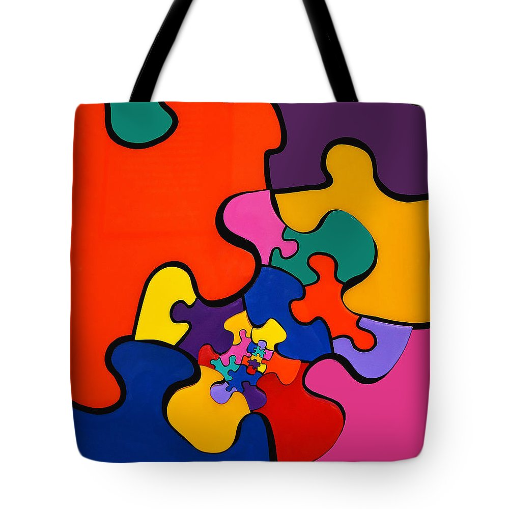 Puzzle Inception - Tote Bag